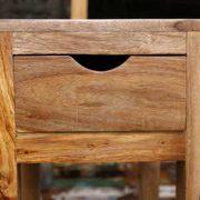 K54-zen-509 indian furniture side table sheesham drawer