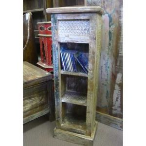 K55-500 indian furniture cd-stand reclaimed DVD