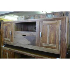 K56-zen539 indian furniture tv unit sheesham closed