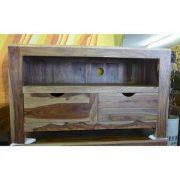 K56-zen560 indian furniture tv unit sheesham drawers interesting