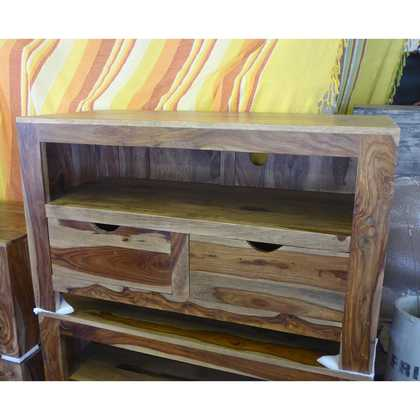 K56-zen560 indian furniture tv unit-sheesham drawers eye catching