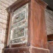 KH4001 indian furniture bedside old