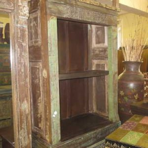 KH4027a indian furniture bookcase old