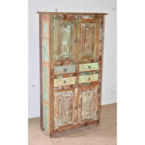 KH9-Rs-014 Indian Furniture Cabinet with Drawers