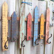KH9-Rs-058 indian furniture fence rail hook coat - angle