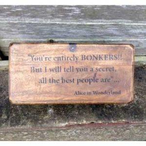 RET-MWB03 Vintage wooden box alice