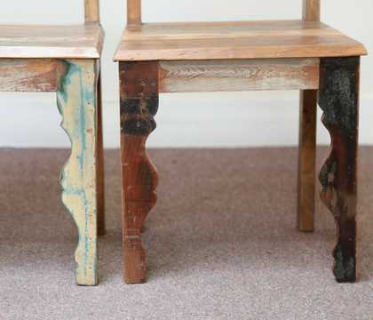 dsc02474 indian furniture dining chair shutter reclaimed bottom