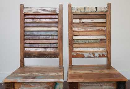 dsc02474 indian furniture dining chair shutter reclaimed backs