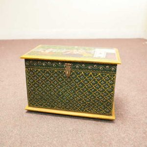 indian furniture handpainted box img1683