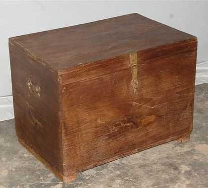 k44-dsc02426 indian furniture trunk old teak
