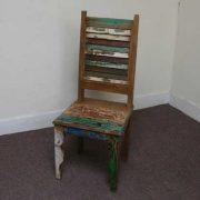 k45-dsc02474-5 indian furniture dining chair shutter reclaimed green