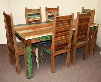 k45-rd180+dsc02474(6)-2 indian furniture dining set reclaimed white