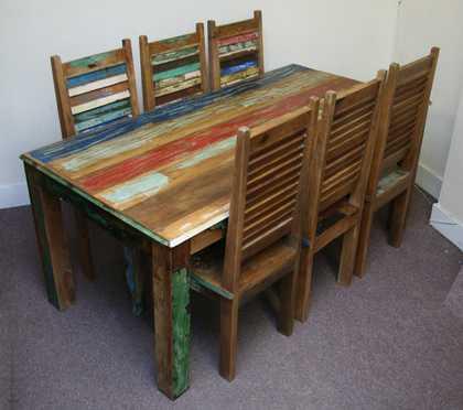 k45-rd180+dsc02474(6)-4 indian furniture dining set reclaimed redstripe