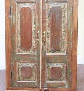 k48-dsc00477 indian furniture cabinet old green