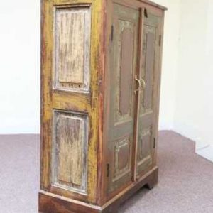 k48-dsc00477 indian furniture cabinet old yellow