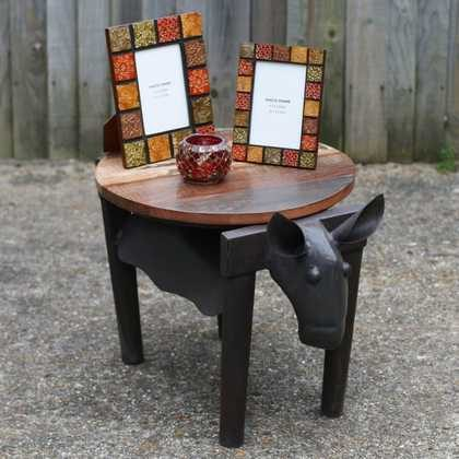 k49-dsc00576 indian furniture unusual table cow side table