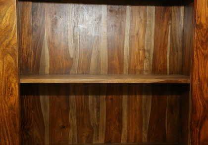k52-R3979 indian furniture bookcase sheesham beautiful grain