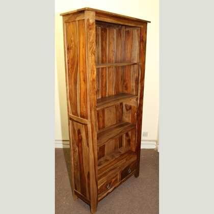 k52-R3979 indian furniture bookcase sheesham indian rosewood
