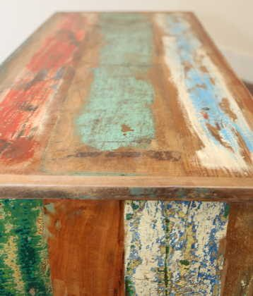 k53-IMG_8427 indian furniture tv unit reclaimed painted stripes