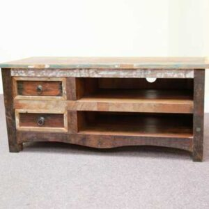 k53-IMG_8427 indian furniture tv unit reclaimed two drawer