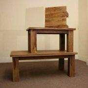 k53 indian furniture coffee table sheesham kota hardwood
