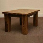 k53 indian furniture coffee table sheesham kota 90x60 angle view