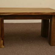 k53 indian furniture coffee table sheesham kota 90x60 front view