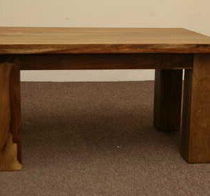 k53 indian furniture coffee table sheesham kota 90×60 front view