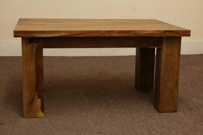 k53 indian furniture coffee table sheesham kota 90x60 front view