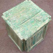k55-725 Indian furniture side table reclaimed large jade