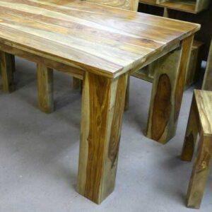 k56-zen-dt-140 indian furniture sheesham dining table