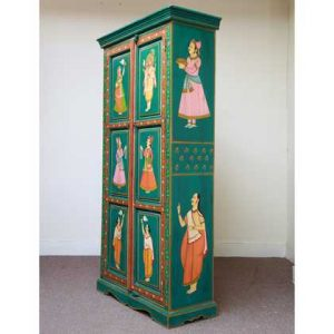 k59-img_3928 indian furniture cabinet hand painted whole angle