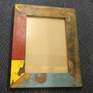 k59-img_9877 indian gift photo frame picture wooden red yellow blue