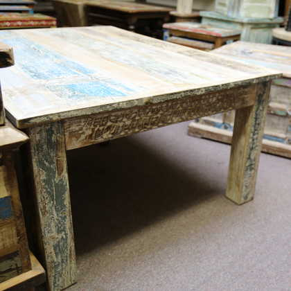 k59-ms-1007-a coffee table dhoni white carved distressed