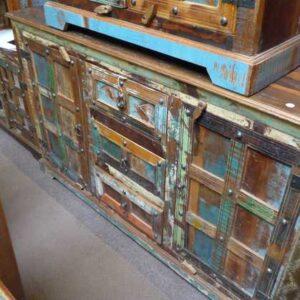 k60-j57-3016 indian sideboard bundi reclaimed 3 drawer