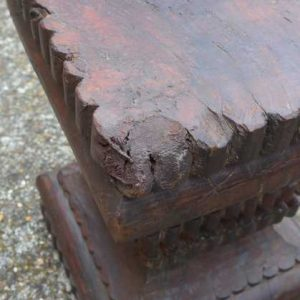 kh-7-kr44a indian furniture table pillar old wear