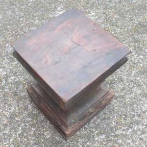 kh-7-kr44b indian furniture table pillar old top