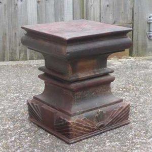 kh-7-kr44b indian furniture table pillar old