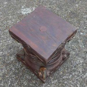 kh-7-kr44c indian furniture table pillar old stout