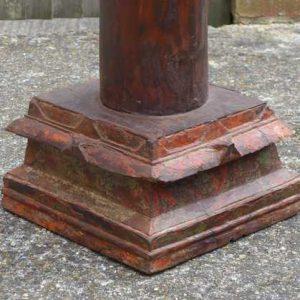 kh-7-kr44d indian furniture table pillar old bottom