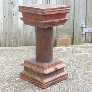 kh-7-kr44d indian furniture table pillar old