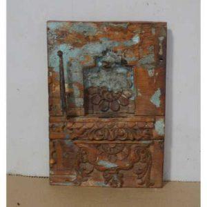 kh10-Rs-044 indian vintage temple carving panel unique