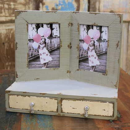 kh10-m-5860 indian shabby photo frame front