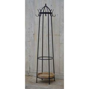 kh10-m-6258 indian iron hat coat stand tall