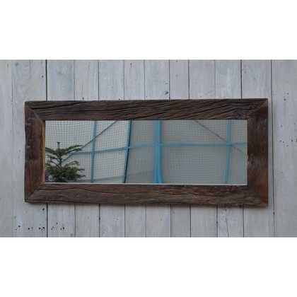 kh10-m-8095 indian furniture mirror wood