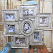 kh10-m-9246 indian wood photo frame front