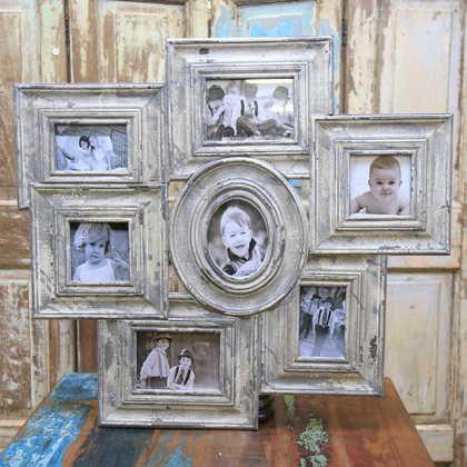 kh10-m-9246 indian wood photo frame front