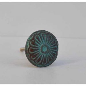 kh10-mh-355 indian metal blue knob