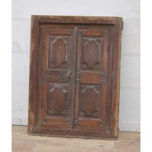 kh11-RS-17 indian furniture vintage window frame doors
