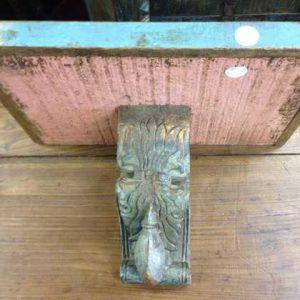 kh11-RS-28 indian furniture wood corbel underside